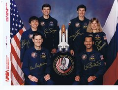 STS-60 Autographed Photo (Contact for Price)
