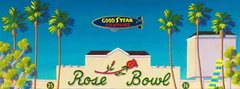 """Rose Bowl"" Canvas Print - 16 x 48"