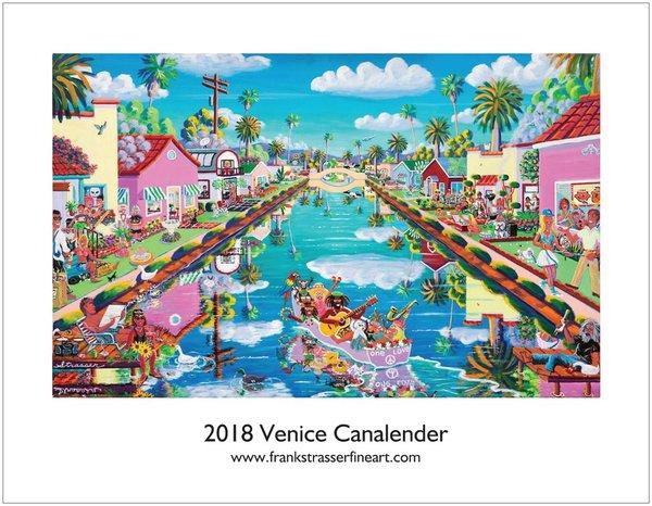 (Set of 5) Classic Venice Calendars   8.5 x 11   $100.00