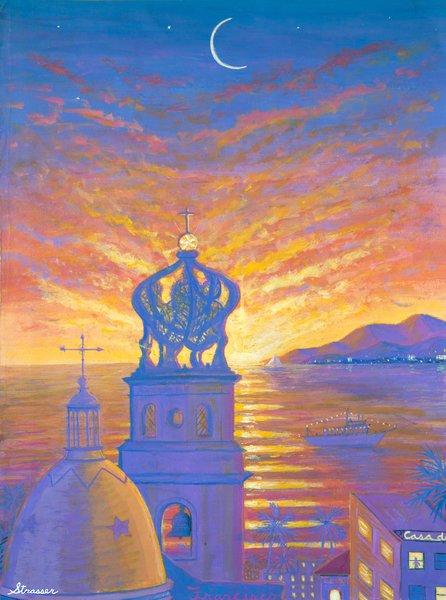 Puerto Vallarta | 24 x 32 | Canvas Print