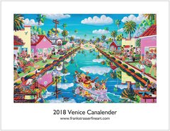 (Set of 5) Classic Venice Calendars | 8.5 x 11 | $100.00