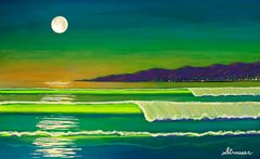 "Venice Moon - Enhanced Giclee - 24"" x 36"""