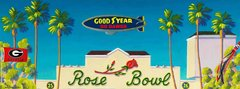 Go Dawgs - 2018 Rose Bowl - 12 x 36 Canvas Print