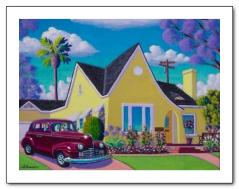 """""""Vintage Digs"""" Giclee on Paper"""