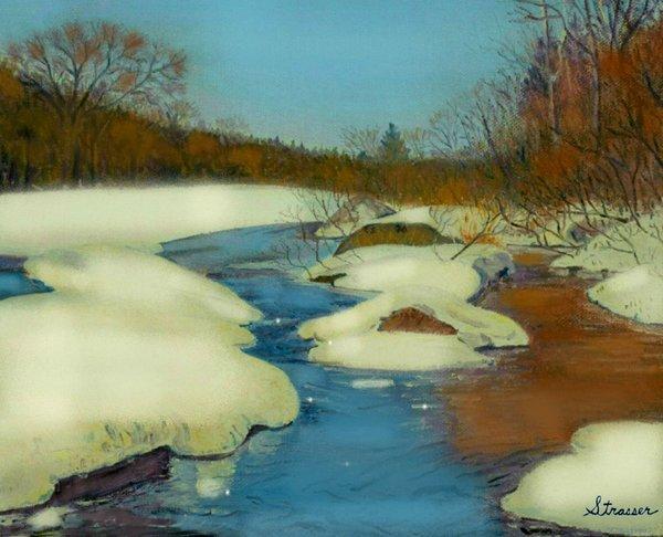 Winter Wonderland | 12 x 16 | Canvas Print