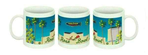 """""""Rose Bowl"""" Ceramic Mug"""