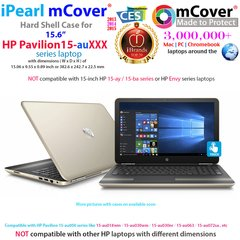 "mCover Hard Shell Case for 15.6"" HP Pavilion 15-auXXX ( 15-au000 to 15-au999 ) series Laptop"