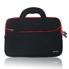High Quality Portable Neoprene Carrying Laptop Sleeve Case Bag w/ Handles and Accessory Pocket