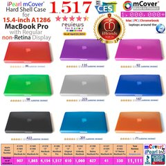 "mCover Hard Shell Case for Macbook Pro 15.4"" ( Model: A1286 with DVD player )"