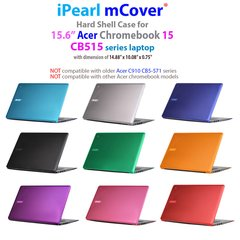 "mCover Hard Shell Case ONLY for Acer Chromebook 15 CB515 series 15.6-Inch Notebook ( **NOT For any other Acer 15"" chromebook**)"