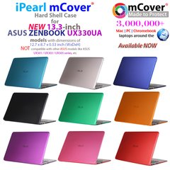 mCover Hard Shell Case for NEW 13.3-inch ASUS ZENBOOK UX330UA