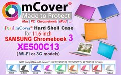 "iPearl mCover Hard Shell Case for 11.6"" Samsung Chromebook 3 XE500C13 series ( NOT Compatible with older XE303C12 / XE500C12 / XE503C12 models ) lapto"