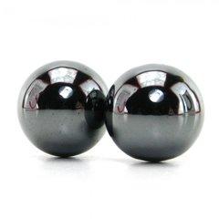 Nen-Wa Magnetic Hematite Balls in Black
