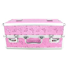 Lockable Large Vibrator Case in Pink