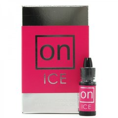 ON Ice Buzzing & Cooling Female Arousal Oil in .17oz/5mL