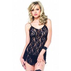 Rose Lace Flair Chemise in OS