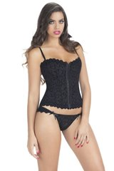 J'Adore Corset with Tanga Panty in L