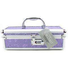 Lockable Small Vibrator Case in Purple