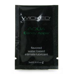 Aqua Candy Apple Lube in .10oz/3mL