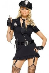 Dirty Cop Costume Set in XS