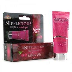 Nipplicious Arousal Gel 1oz/29ml in Cherry Pie