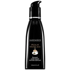Aqua Mocha Java Flavored Lube in 4oz/120mL