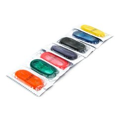 Fun Pack Color Condoms (144 Pack) in Assorted Colors