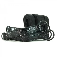 Sinful Bed Restraint Straps in Black