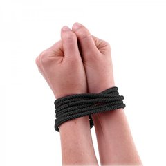 Fetish Fantasy Mini Silk Rope in Black