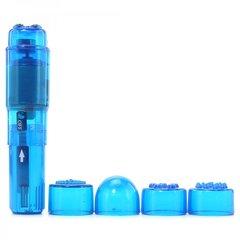 Mini-Mite Waterproof Massager Vibe in Blue