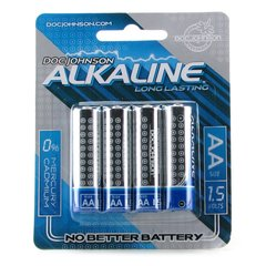 Alkaline AA Batteries 4 Pack