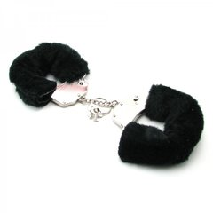 Fetish Fantasy Furry Cuffs in Black