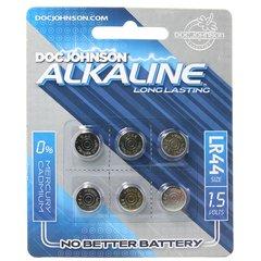 Long Lasting LR44 Alkaline Battery in 6 pack