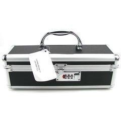 Lockable Small Vibrator Case in Black