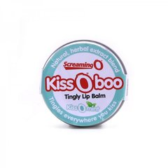 KissOBoo Tingly Lip Balm in KissOMint Peppermint