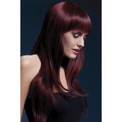 Sienna Wig in Black Cherry
