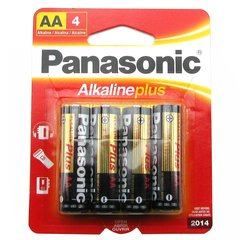 Alkaline AA Batteries - 4 Pack