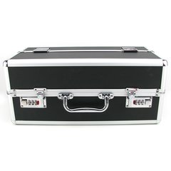 Lockable Large Vibrator Case in Black