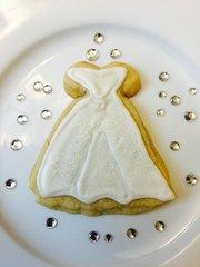 Iced Wedding Dress 1 doz