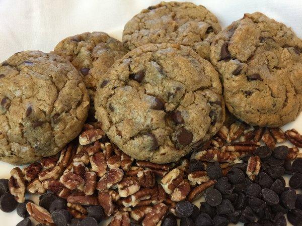 Go Texan/Chocolate Chip & Texas Pecans 2 dozen