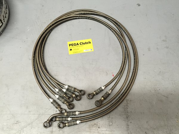 F1 & E-Gear Actuator Hydraulic Performance Hoses 179344
