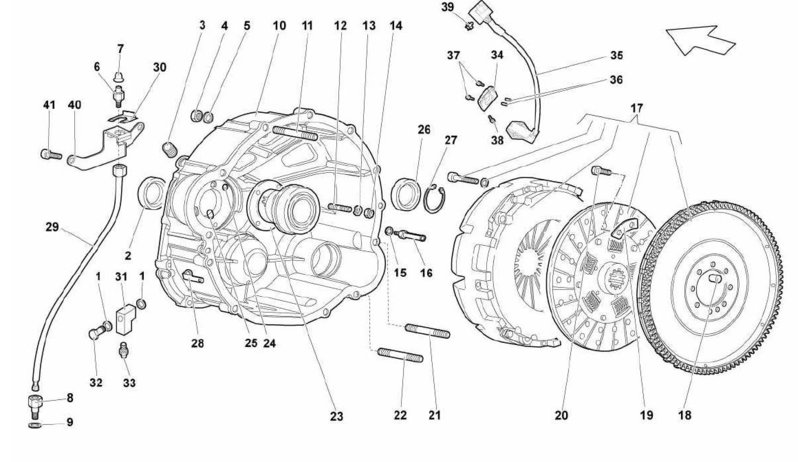 Lamborghini OEM Murcielago LP640r Gallardo LP560 THRUST BEARING – Lamborghini Gallardo Engine Diagram