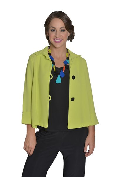IC Collection Short Swing Jacket-IC-5249J | IC Collection Jackets ...