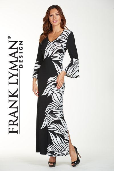 Fashion forward maxi dress