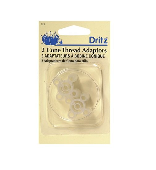 Large Cone Thread Spool Pin Adaptors By Dritz Item D920