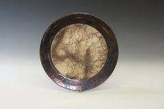 Bronze Rimmed Plate