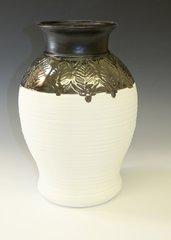 Large Leaf Vase