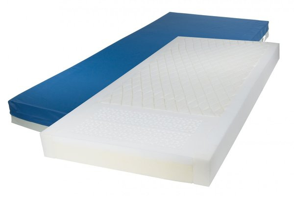 Gravity 7 Long Term Care Pressure Redistribution Mattress with Elevated Perimeter - 15777