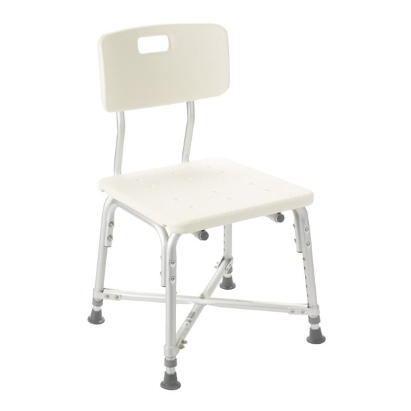 Heavy Duty Bariatric Bath Bench with Back - 12029-1