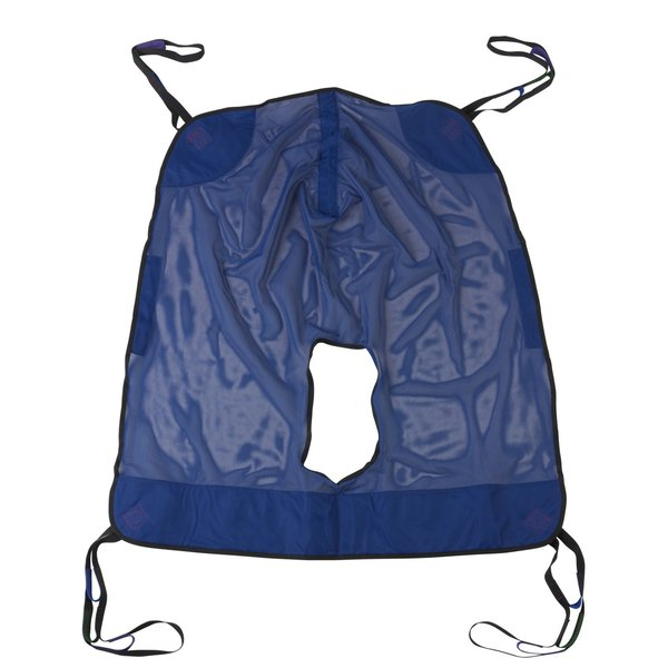 Full Body Patient Lift Sling with Commode Cutout - 13221xl